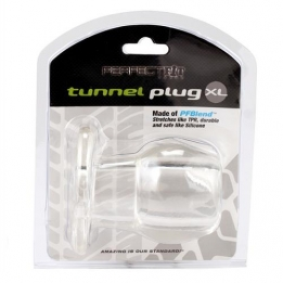 Ass Tunnel Plug Clear XL